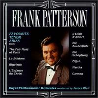 Frank Patterson - Favourite Tenor Arias
