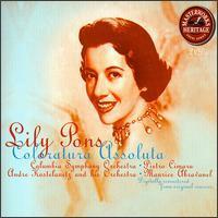Lily Pons - Lily Pons Coloratura Assoluta