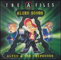 The Chipmunks - The A-Files: Alien Songs