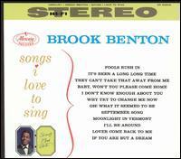 Brook Benton - Songs I Love to Sing