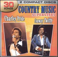 Charley Pride/Conway Twitty - Country Music Superstars: Charley Pride and Conway Twitty