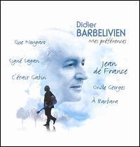 Didier Barbelivien - Mes Preferences [Bonus DVD]