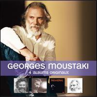 Georges Moustaki - 4 Albums Originaux: Le Métèque/Il Y Avait Un Jardin/Danse/Les Amis De Georges