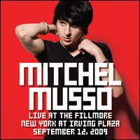 Mitchel Musso - Live At the Fillmore New York At Irving Plaza September 12th, 2009