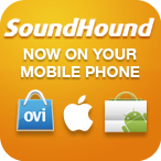 SoundHound on your mobile phone