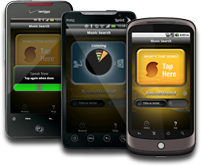 Soundhound on Android