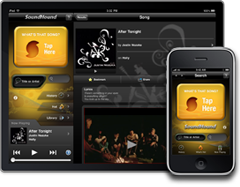 Soundhound on iOS